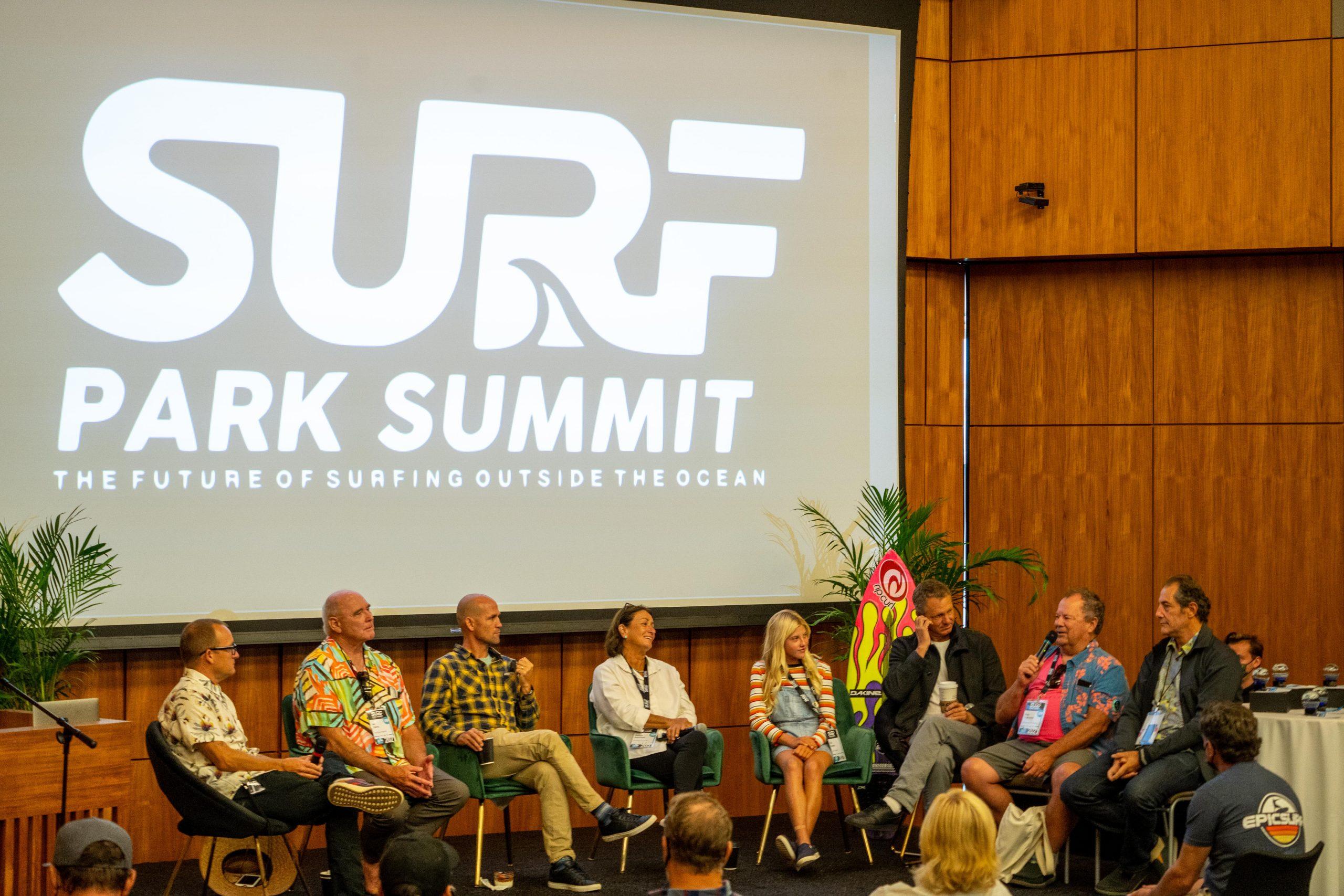 Surf Park Summit 2021 panel
